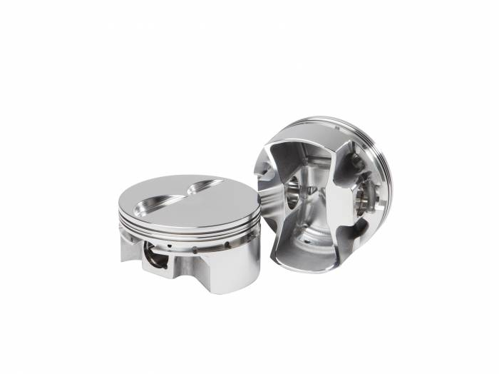 Diamond Racing - Pistons - Diamond Pistons 11012-8 Small Block Chevy Ultralite Flat Top Series