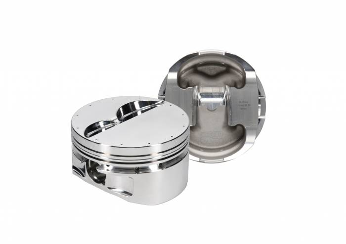 Diamond Racing - Pistons - Diamond Pistons 10310-8 Small Block Chevy 23 Nitrous Flat Top Series