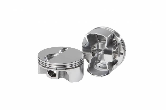 Diamond Racing - Pistons - Diamond Pistons 11062-8 Small Block Chevy Racelite Flat Top Series