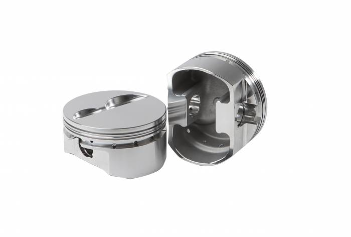 Diamond Racing - Pistons - Diamond Pistons 11174-8 Small Block Chevy 23 Street Strip Flat Top Series