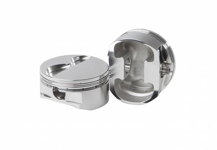 Diamond Racing - Pistons - Diamond Pistons 11202-8 Small Block Chevy 17 & 18 Flat Top Series