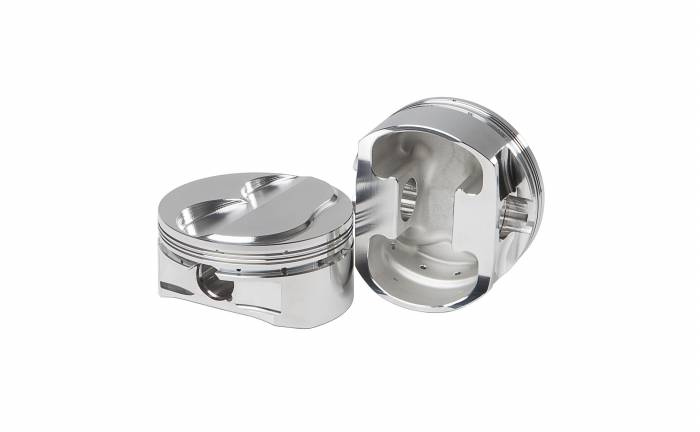 Diamond Racing - Pistons - Diamond Pistons 11306-8 Small Block Chevy 17 & 18 Dome Series