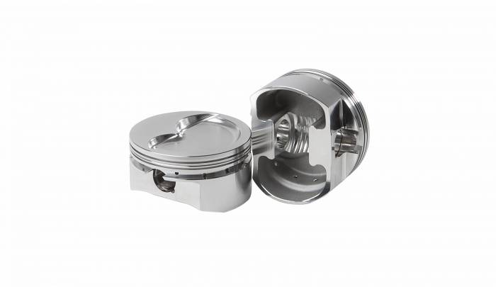 Diamond Racing - Pistons - Diamond Pistons 11407-8 Small Block Chevy 23 Street Strip Dish Series