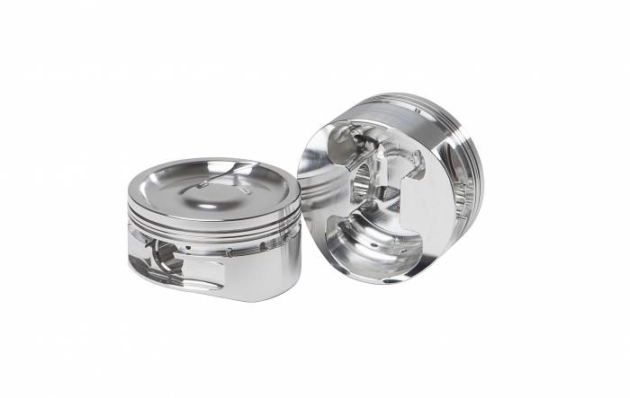 Diamond Racing - Pistons - Diamond Pistons 11428-8 Small Block Chevy 23 Race Dish Series