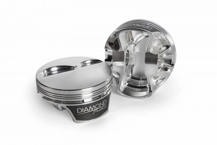 Diamond Racing - Pistons - Diamond Pistons 11581-R1-8 Chevy LS Street Strip Dish Series