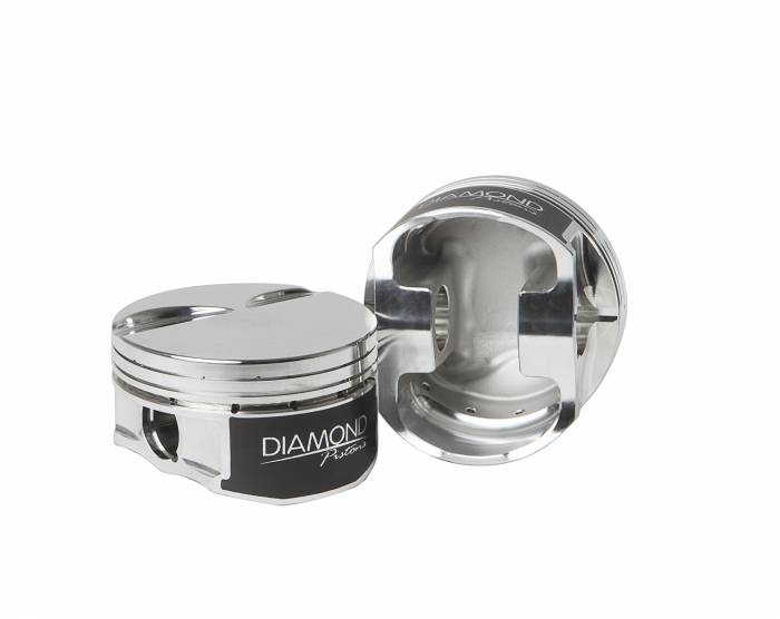 Diamond Racing - Pistons - Diamond Pistons 11599-R1-8 Chevy LS Street Strip Flat Top Series