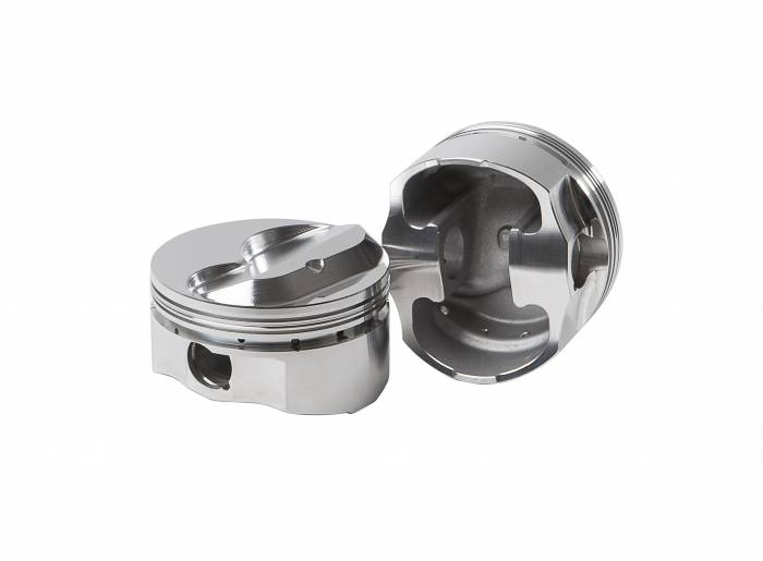 Diamond Racing - Pistons - Diamond Pistons 11707-8 Small Block Chevy 23 Street Strip Dome Series