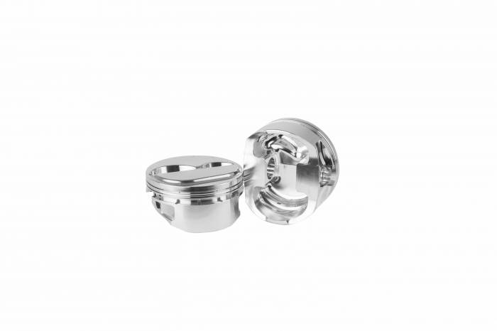 Diamond Racing - Pistons - Diamond Pistons 11804-8 Small Block Chevy 23 Nitrous Dome Series