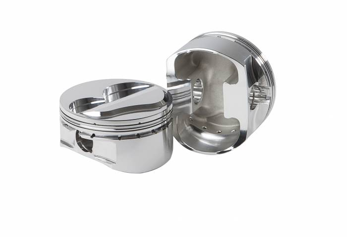 Diamond Racing - Pistons - Diamond Pistons 11866-8 Small Block Chevy 15 Brodix -12 Dome Series