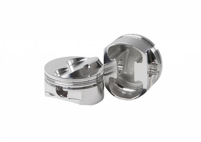 Diamond Racing - Pistons - Diamond Pistons 11924-8 Small Block Chevy 23 Race Dome Series