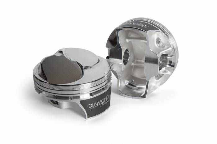 Diamond Racing - Pistons - Diamond Pistons 20001-8 Big Block Chevy 24 & 26 Competition Series