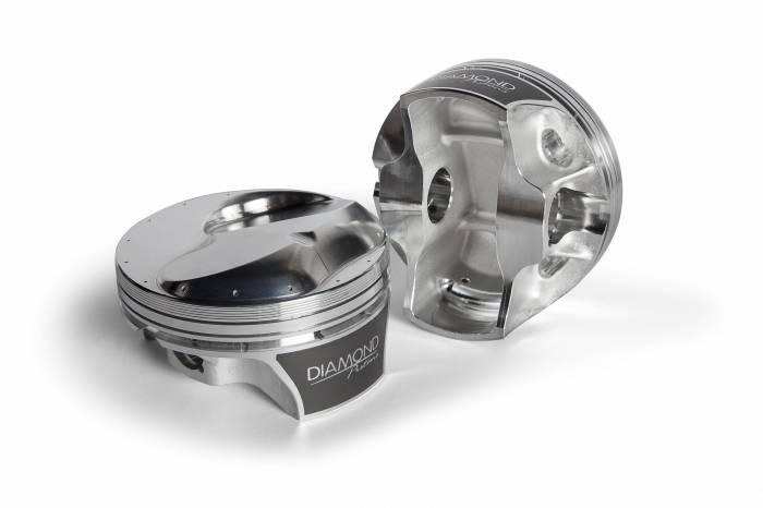 Diamond Racing - Pistons - Diamond Pistons 21006-8 Big Block Chevy 20 Competition Series Brodix SR20 & Dart 20