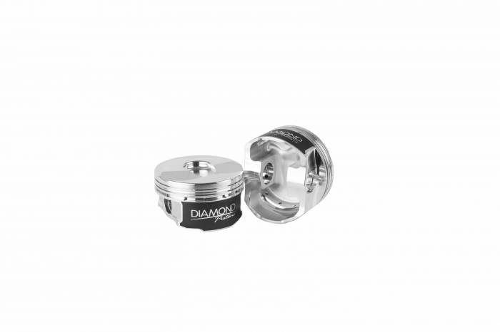 Diamond Racing - Pistons - Diamond Pistons 21505-R1-8 Chevy L83 5.3L Street Strip Series