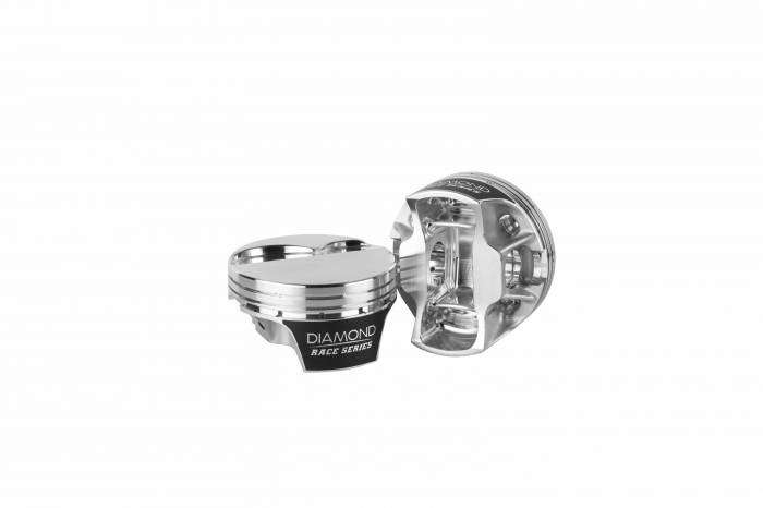 Diamond Racing - Pistons - Diamond Pistons 21526-RS-8 LS2K 12 Flat Top Series