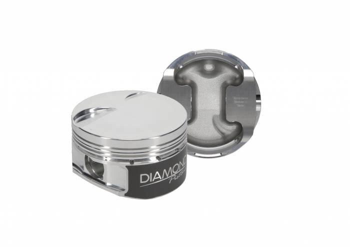 Diamond Racing - Pistons - Diamond Pistons 30405-R1-8 Ford Modular 4.6L SOHC 2V Dish Series