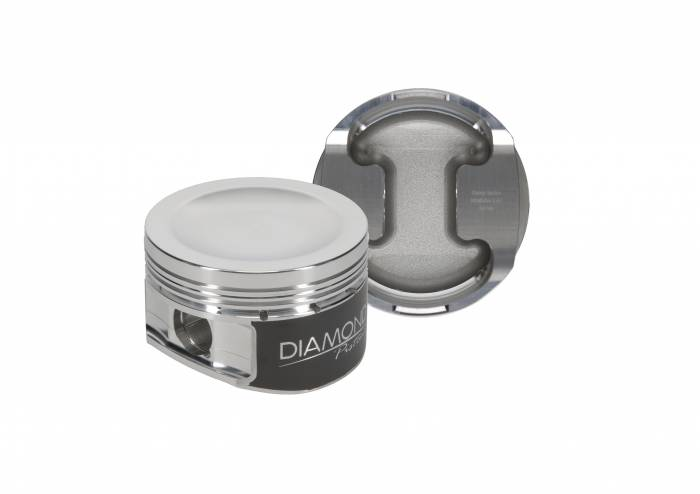 Diamond Racing - Pistons - Diamond Pistons 30444-R1-8 Ford Modular 5.4L SHOC 2V Dish Series