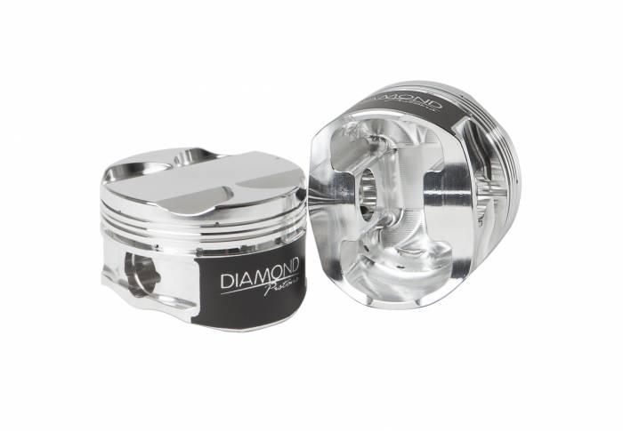 Diamond Racing - Pistons - Diamond Pistons 37004-6 Toyota 2JZGTE Street Strip Series