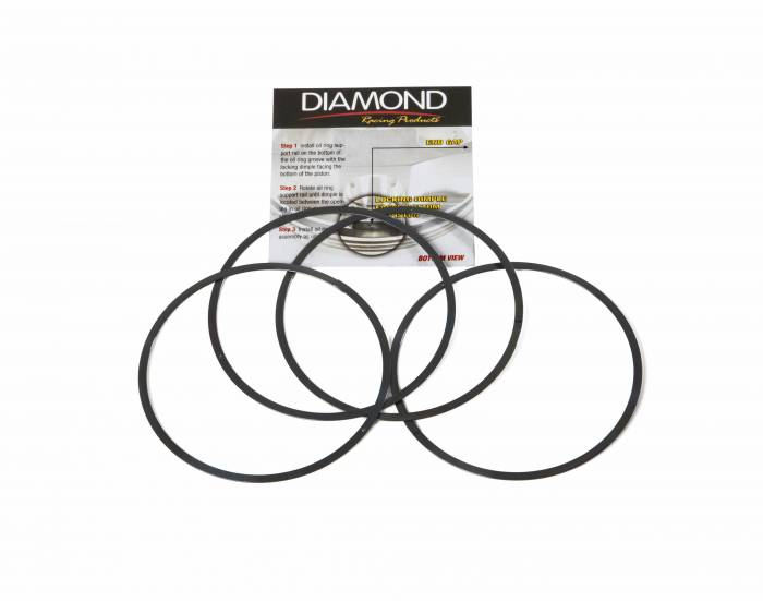 Diamond Racing - Support Rails - Diamond Pistons 019000000 4.000-4.039 Bore Range Support Rails