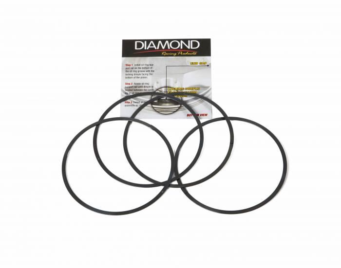 Diamond Racing - Support Rails - Diamond Pistons 019000435 4.435-4.474 4.390-4.429 Support Rails