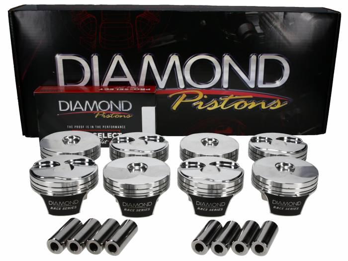 Diamond Racing - Pistons - Diamond Pistons 21607-RS-8 LT2K LT1/LT4 Gen V Series