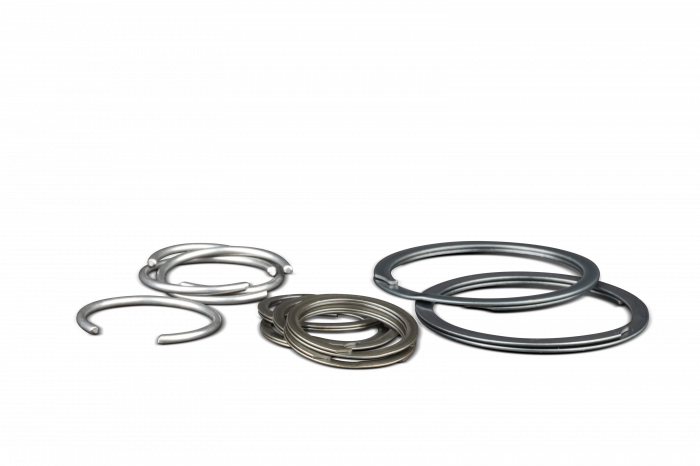 Diamond Racing - Wrist Pin Retainer Clips - Diamond Pistons 015000-32 Double Spirolox