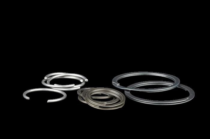 Diamond Racing - Wrist Pin Retainer Clips - Diamond Pistons 015124-32 Double Spirolox