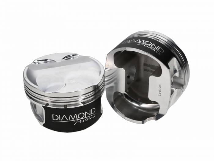 Diamond Racing - Pistons - Diamond Pistons 30509-R1-8 Ford Modular 5.0L Gen 1-3 Coyote Series