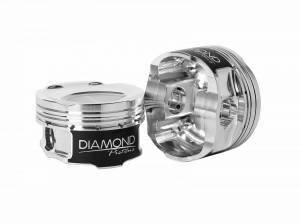 Diamond Racing - Pistons - Diamond Pistons 36044-4 Subaru FA20 BRX/Toyota 4U-GSE Series