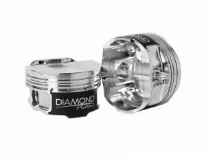 Diamond Racing - Pistons - Diamond Pistons 36049-4 Subaru FA20DIT WRX Series
