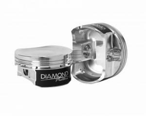 Diamond Racing - Pistons - Diamond Pistons 53054-R1-8 Modern Hemi 5.7L 2009 & Up Competition Series