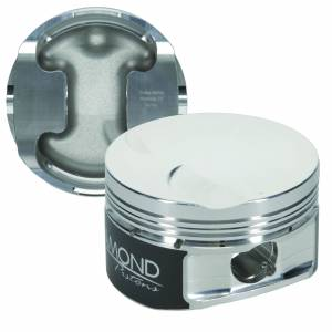 4.6L - SOHC 2V Competition Series - Diamond Racing - Pistons - Diamond Pistons 30400-R1-8 Ford Modular 4.6L SOHC 2V Flat Top Series