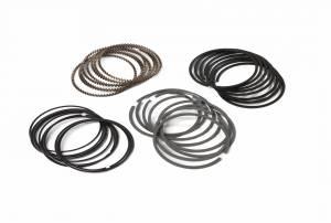 Pro Select Ring Sets - 4.190-4.250 Bore Range - Diamond Racing - Ringsets - Diamond Pistons 09714250-R1 Black Diamond Ringset