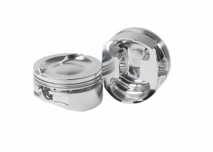 Diamond Racing - Pistons - Diamond Pistons 31426-8 Small Block Ford 302/351 Inline Street Strip Dish Top Series