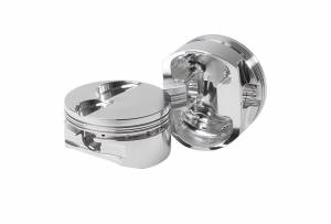 Diamond Racing - Pistons - Diamond Pistons 31729-8 Small Block Ford 302/351 Twisted Wedge Street Strip Flat Top Series