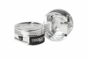 Diamond Racing - Pistons - Diamond Pistons 36015-4 Subaru EJ257 WRX/STI Series 2004-Current