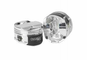 Toyota - 2JZGTE - Diamond Racing - Pistons - Diamond Pistons 37000-6 Toyota 2JZGTE Street Strip Series