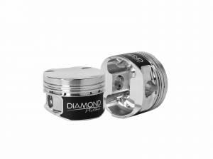 Diamond Racing - Pistons - Diamond Pistons 38006-4 Audi/Volkswagen 1.8T 20V Series