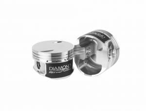 Mercury Racing - 7.4L 454 Magnum/MPI - Diamond Racing - Pistons - Diamond Pistons 70027-8 Mercury Racing Replacement Series