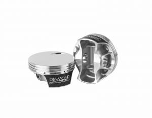 Diamond Racing - Pistons - Diamond Pistons 70084-8 Mercury Racing Replacement Series