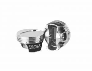 Diamond Racing - Pistons - Diamond Pistons 70120-8 Mercury Racing Replacement Series