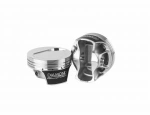 Diamond Racing - Pistons - Diamond Pistons 70128-8 Mercury Racing Replacement Series