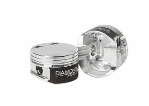 Diamond Racing - Pistons - Diamond Pistons 81001-6 Nissan GT-R VR38DETT Grade 2 Series
