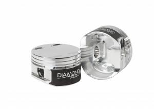 Diamond Racing - Pistons - Diamond Pistons 81015-6 Nissan GT-R VR38DETT Grade 2 Series