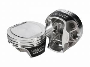 Diamond Racing - Pistons - Diamond Pistons 53205-RS-8 Hemi2K 6.2L Hellcat  Series