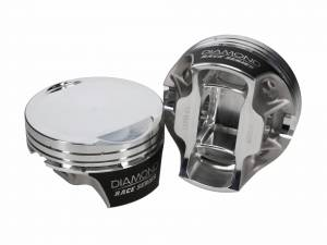 Diamond Racing - Pistons - Diamond Pistons 53304-RS-8 Hemi2K 6.4L Apache Series