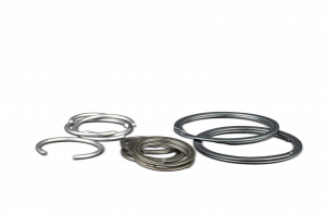 Wrist Pin Locks - Round Wire - Diamond Racing - Wrist Pin Retainer Clips - Diamond Pistons 015121-16 Roundwire